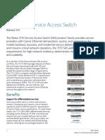 Nokia 7210 Service Access Switch