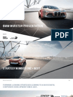 BMW Investor Presentation May 2016