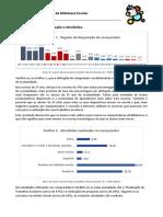 Estatística 1º período da frequência Biblioteca escolar AERSI