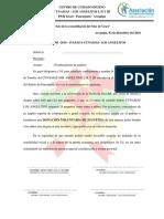 OFICIO PADRINO CUNAMAS