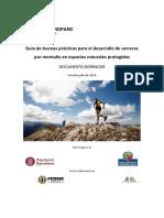 Guía Buenas Prácticas Desarrollo Carreras Por Montaña en Espacios Protegidos EUROPARC.