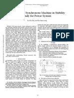Adey_4_Simulation of Synchronous Machine