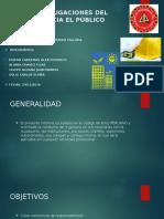 Deberes y Obligaciones Del Ingeniero Hacia El Público