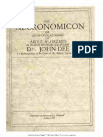 John Dee Necronomicon