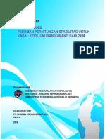 Sc116 - Kajian Teknis Pedoman Stabilitas Kapal Kecil- Laporan Pendahuluan (Rev-0)