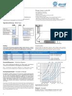 Data Sheet Plunger Heater