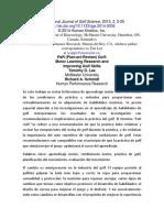 International Journal of Golf Science- Richard Schmidt