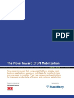 The Move Toward ITSM Mobilization