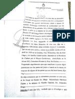 Declaración Eduardo Conde