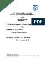 Informe de Visita Industrial a Transmar s.a.