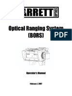 Barrett Bors Manual