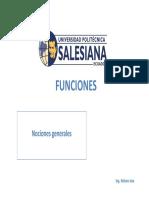 Nociones Generales de Funciones 1