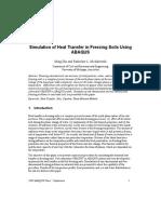 Two Dimensional Soil Freezing Problem