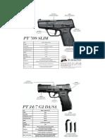 Catalogo Verde Pistolas 9mm
