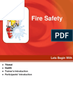 Fire Safety - To Share