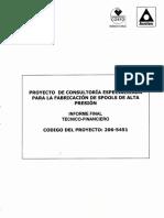 Fabricacion de Spool de AP Chile Acotec