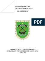 Pedoman Etika Rs Revisi