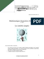 Math Fi 2011 12 IUT GEA Fascicule TD