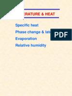 Lecture 11 Temp & Heat