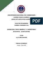 Informe Fisica 4 MRU