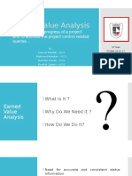 Group 1 - Earned Value Analysis