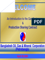 Petrobangla Production Sharing Contract Presentation