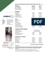JFE Bear Data Sheet