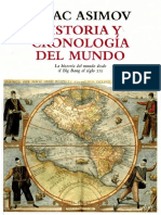 Asimov Historia y Cronologia Del Mundo