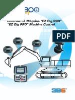 Catalogo Controle Da Maquina Ez Dig Pro