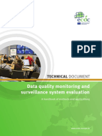 Data Quality Monitoring Surveillance System Evaluation Sept 2014