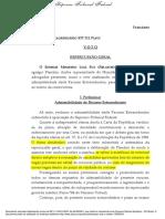 Ultima Chance - Direito Subjetivo Nomeacao Candidato Fora Do Numero de Vaga Reserva - Voto Fux