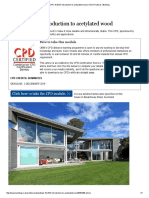 CPD 18 2016_ Introduction to Acetylated Wood _ Online Features _ Building