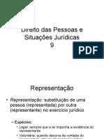 direito das pessoas e situações juridicas