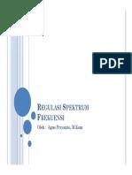 Pemahaman Regulasi Spektrum Frekuensi