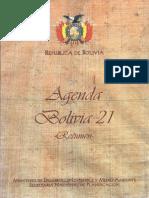 Agenda Bolivia 21 (1996)