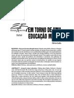 silvio gallo- em torno de uma educação menor.pdf