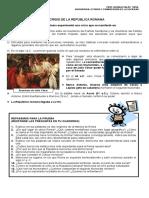 CRISIS DE LA REPÚBLICA 7° BASICO
