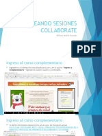 Creando Sesiones Collaborate