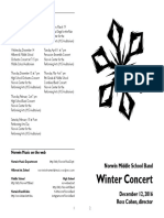Norwin Middle School Band Concert December 12, 2016