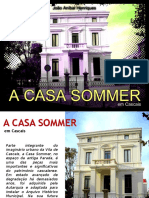 A Casa Sommer em Cascais - por João Aníbal Henriques