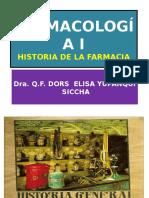 1.- Historia de La Farmacia