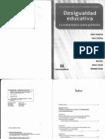 Kaplan y Llomovate - Desigualdad Educativa