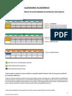 Calendario Académico Guía Ecoturismo 2016