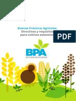 BPA Cultivos Extensivos