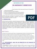 INFORME DE CRIANZA N°02