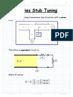 Series Stub Tuning.pdf