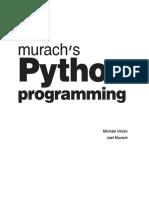 Python Programming 2016