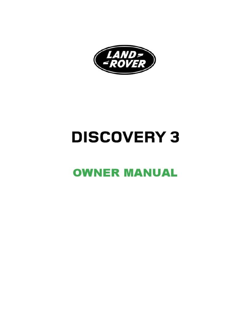 LAND_ROVER_3_DISCOVERY_2006-2009_REPAIR_MANUAL.pdf | Bluetooth | Manual  Transmission