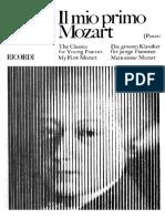 Il Mio Primo Mozart per piano