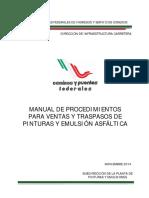 Manual de Proc de Ventas y Traspasos Ppe Nov14